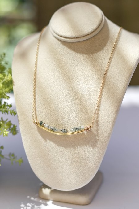 Bloom Rondelle U Necklace