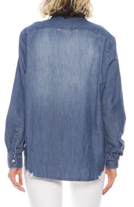 Frank & Eileen Eileen Stonewashed Denim Shirt - INDIGO