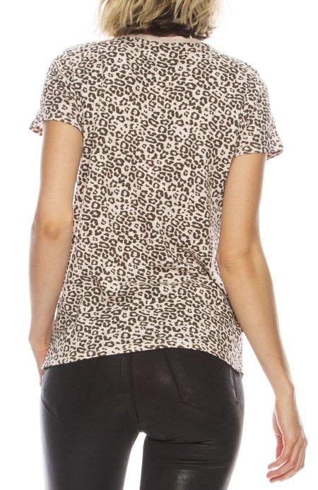 ATM Schoolboy Tee - Leopard
