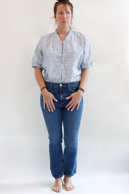RE/DONE Mid Rise Kick Flare Jean