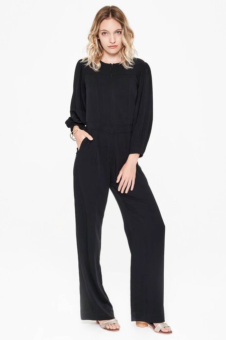 Sitting Pretty Lila Panelled Jumpsuit - Black