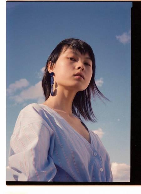 Levens Lagoon Cobalto Earrings