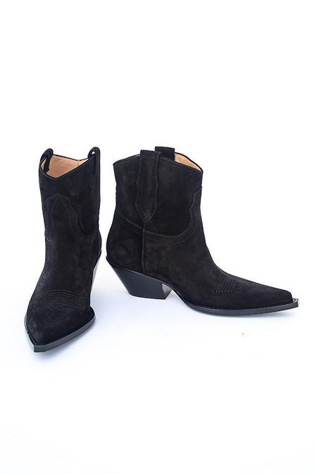 maison margiela Vintage Treatment Mexas Boot - Black