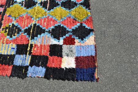 Siku Store Vintage Boucherouite Rug