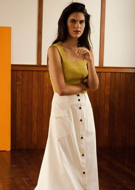 Penny Sage Nolan skirt - calico cream