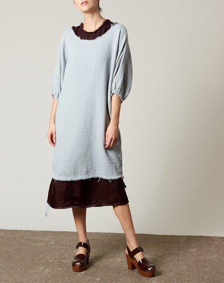 Raquel Allegra Dolman Dress - Grey Blue