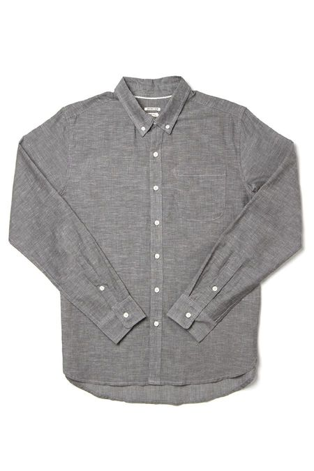 Bridge & Burn Sutton shirt - Summer Chambray Grey
