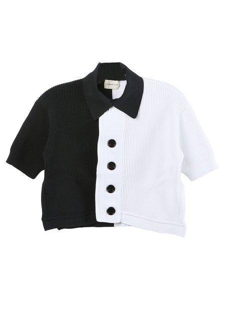 Simon Miller Thalia Shirt - Black/White