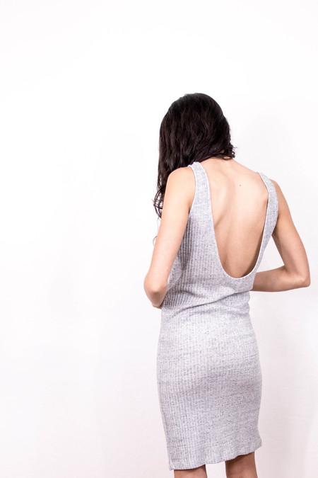 STORM & MARIE sleeveless dress - LIGHT GREY