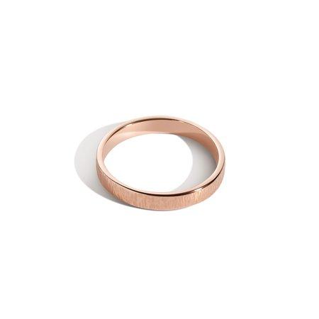 Shahla Karimi Every Love 3mm Vertical Hammered Band