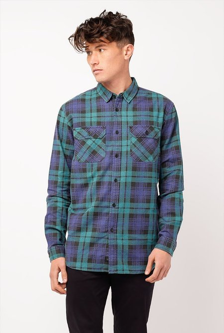 Globe Dion Naples L/S Shirt - GREEN