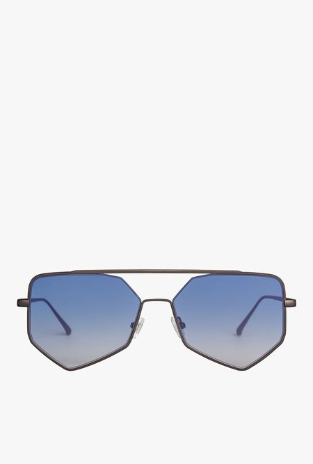 Bonnie Clyde Figueroa II Sunglasses - BLUE GRADE
