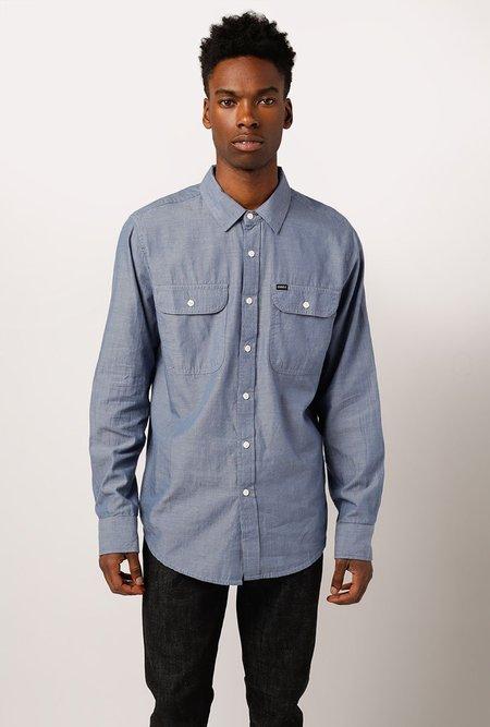 Obey Glassell L/S Shirt - LIGHT BLUE