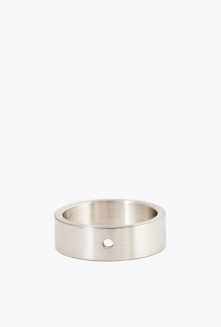 Marmol Radziner Lightweight Solid Standard Ring - WHITE BRASS