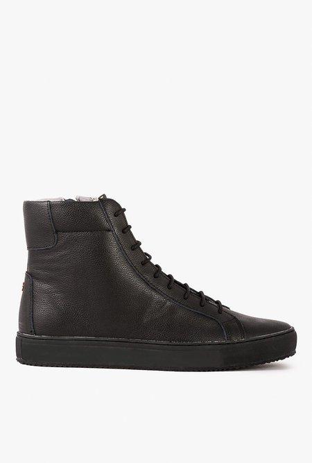 TCG Footwear Logan High-Top Trainer - BLACKOUT