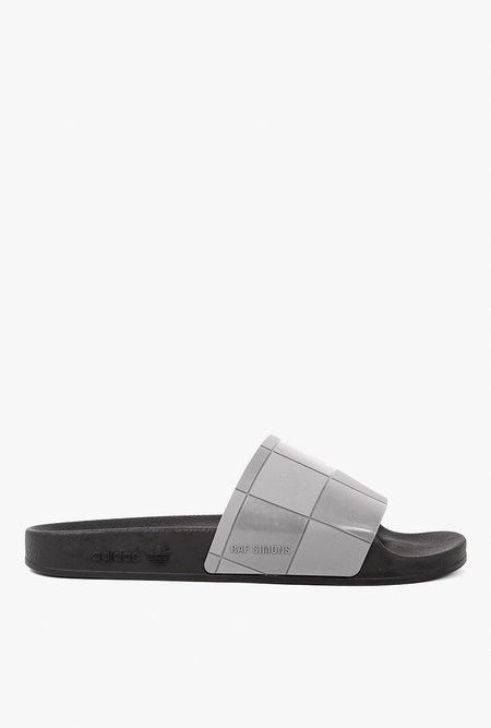 Adidas x Raf Simons Adilette Sandle - Granite