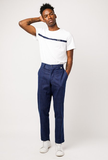 Kardo Sidney Loose Trouser - Raw Navy