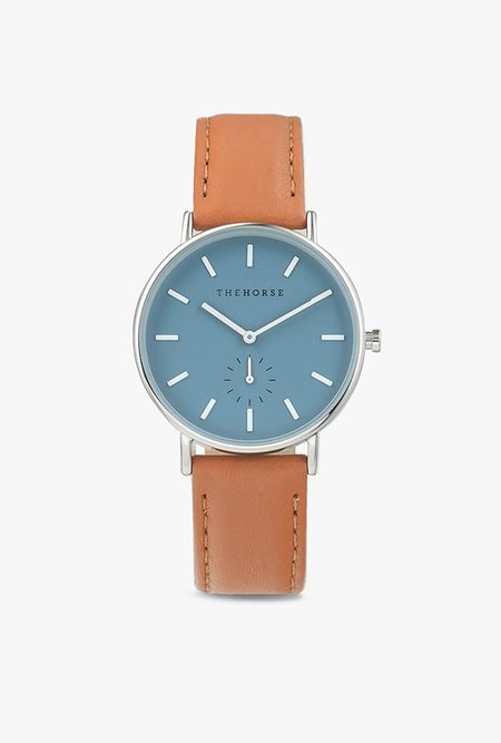 The Horse Watch The Classic Watch - TAN/BLUE
