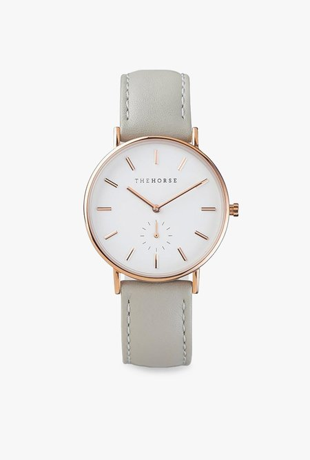 The Horse Watch The Classic Watch - GREY/ROSE