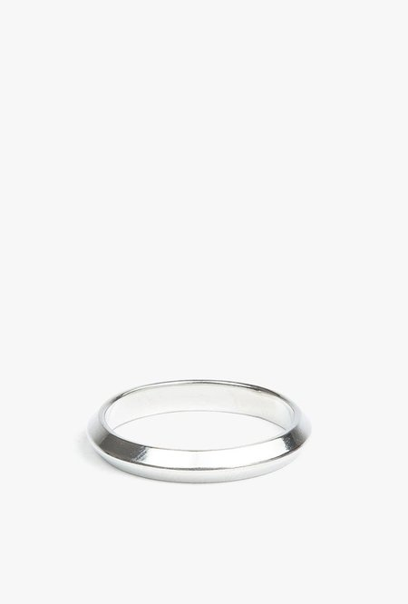 The Sum The Edge Ring - STERLING SILVER