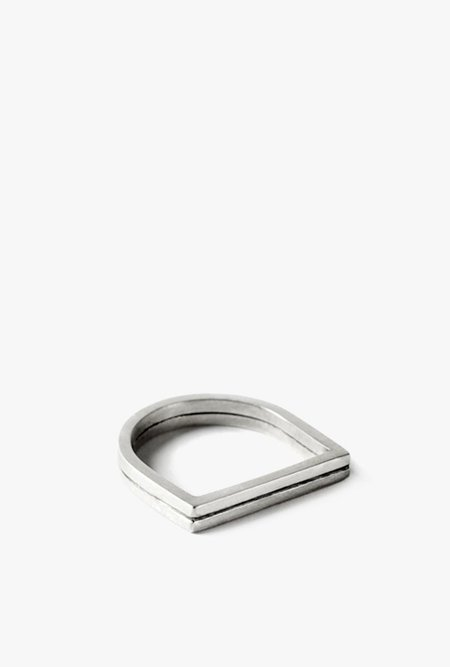 The Sum The Signet Ring - STERLING SILVER