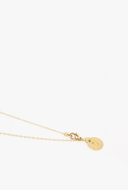 SOKO Daya Pendant Necklace - BRASS