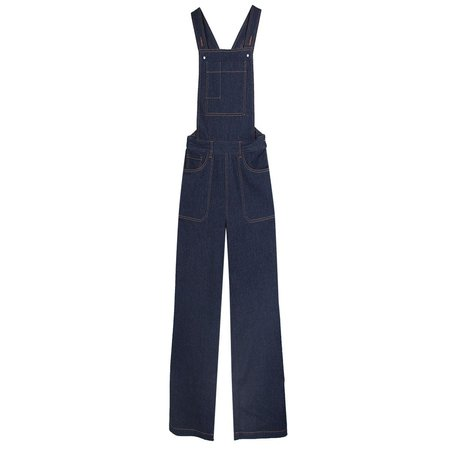 LF Markey Denim Flare Dungaree