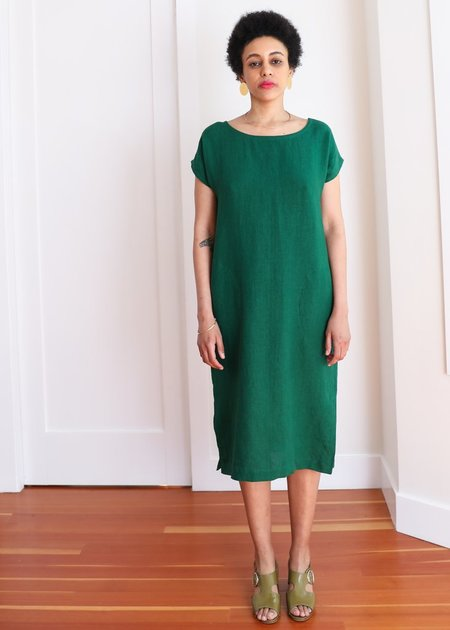 Gravel & Gold Forti Dress - Basil