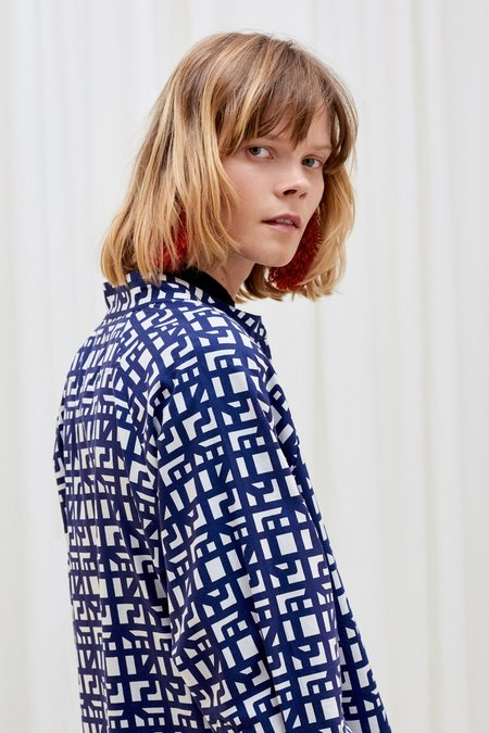 Kowtow Curator Dress - Shadow Print
