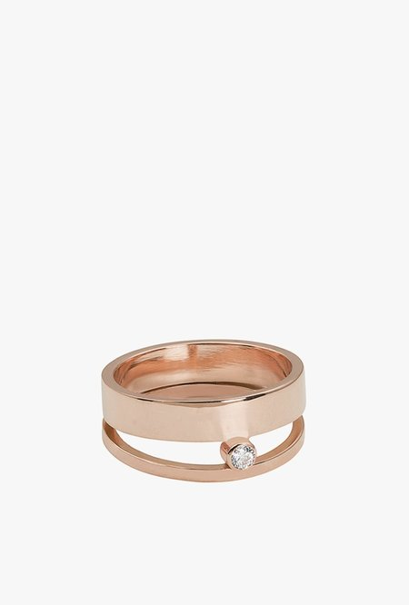 White Space Hover Ring
