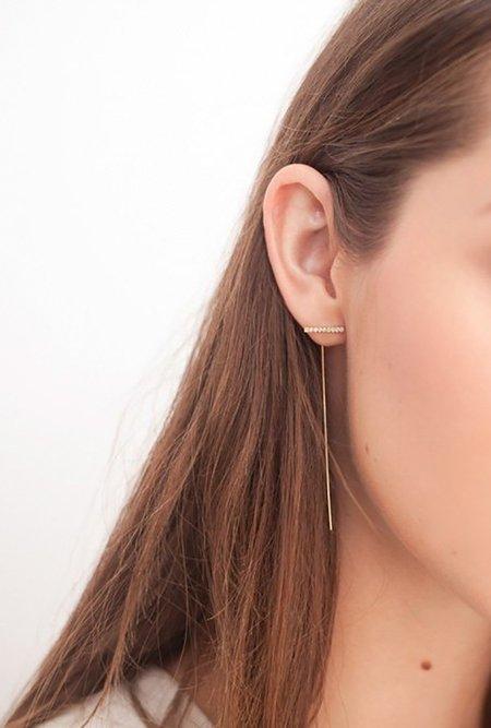 Eriness Staple Wire Threader Earrings