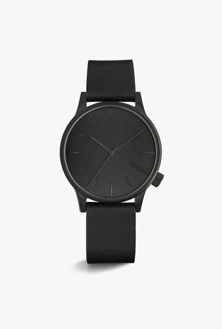 KOMONO Winston Regal Watch - BLACK