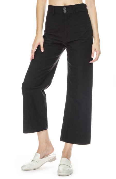 Apiece Apart Merida Wide Leg Crop Pant