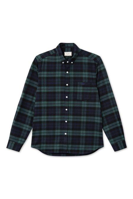 forét Birch Shirt - Navy/Army