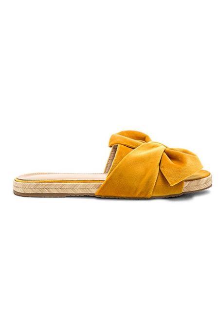 KAANAS Velvet Slide - Marigold
