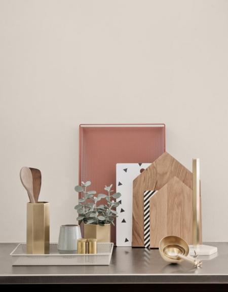 Ferm Brass Vase - Brass