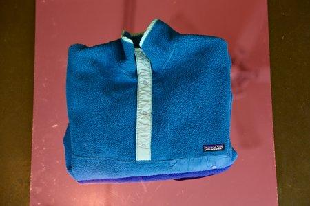 Hiking Club LA Vintage Patagonia Fleece Jacket - Blue/Teal