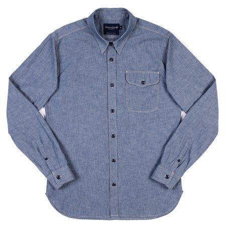 Freenote Cloth Freenote Single Pocket Utility Shirt - Blue Chambray