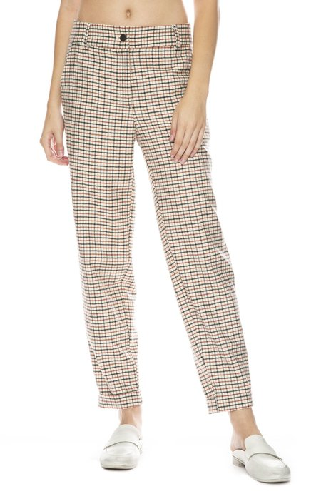 Margaux Lonnberg Jarvis Pant - Off White Check