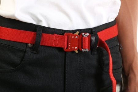 1017 ALYX 9SM Medium Rollercoaster Belt - Red