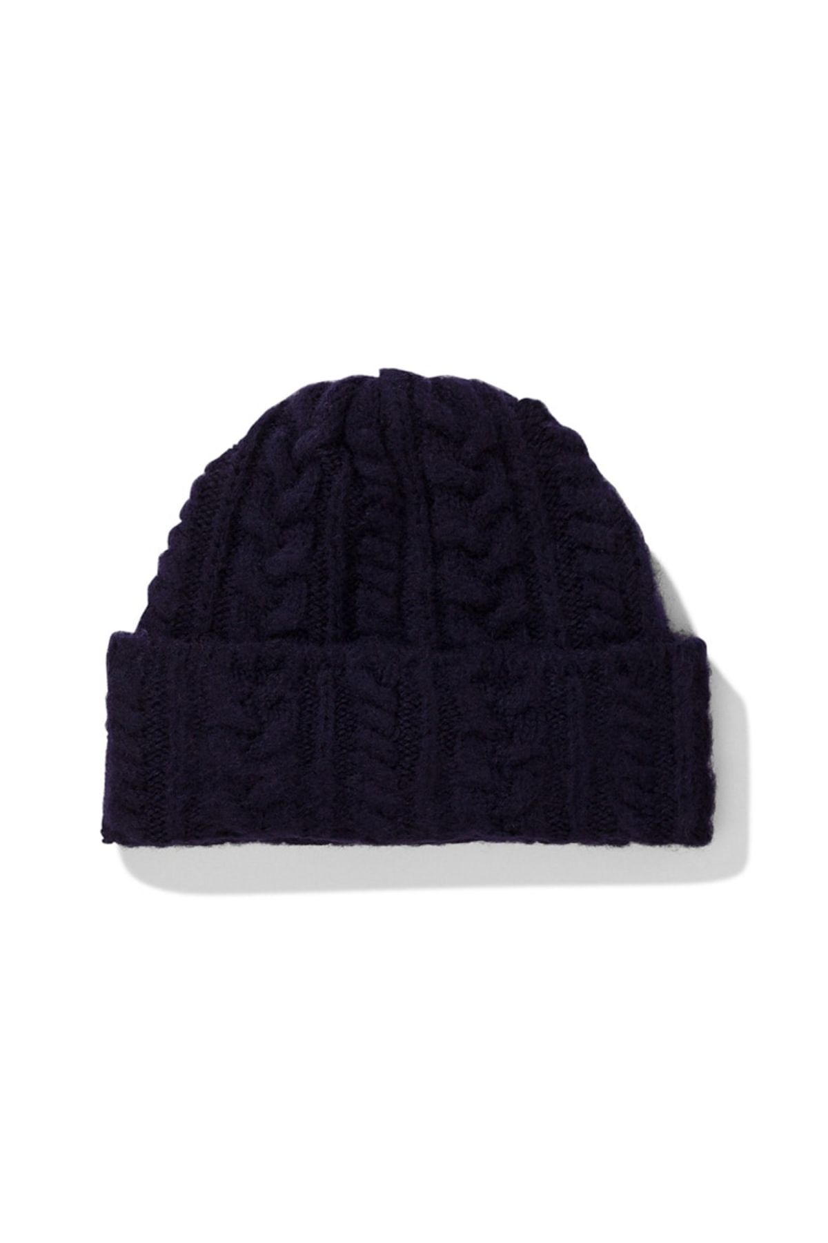 8b12d5bdf Norse Projects Brushed Cable Beanie - Dark Navy on Garmentory
