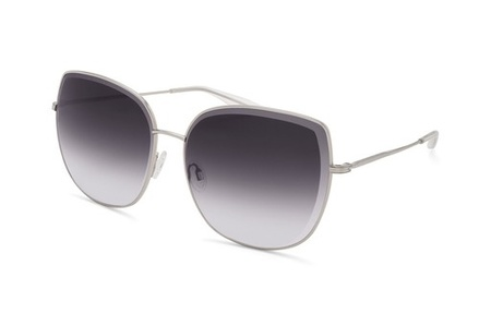 Barton Perriera Espiritu Sunglass - Silver/Smolder