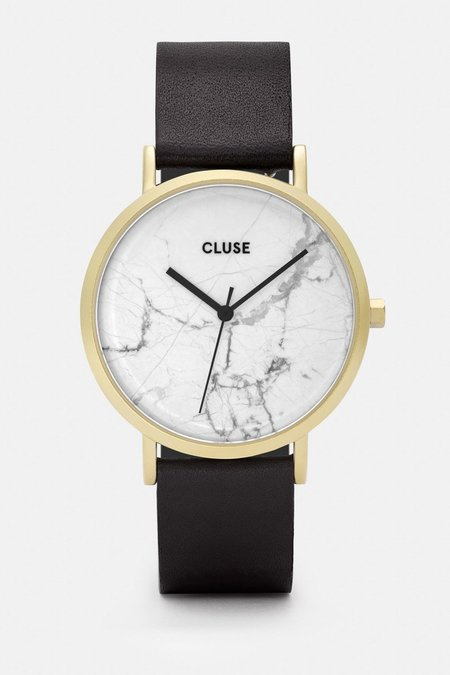 Cluse La Roche Marble Watch - Black