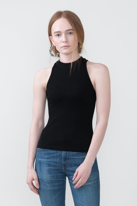 Getting Back To Square One Knit Tank Top - Black