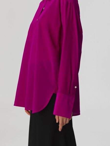 By Malene Birger Blouse - Burgundy