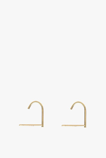 Stella and Bow Kim Suspender Earrings - 14k Gold