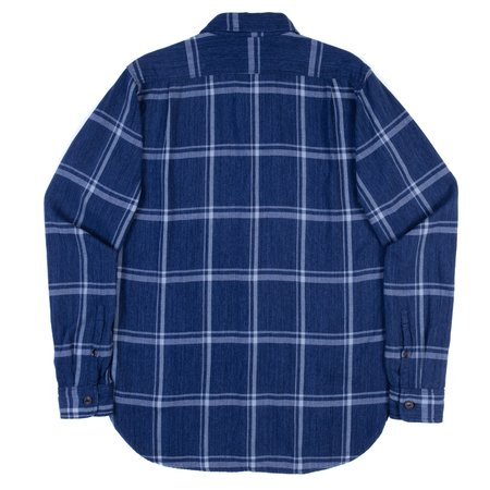 Freenote Cloth Jepson Shirt - Blue Check