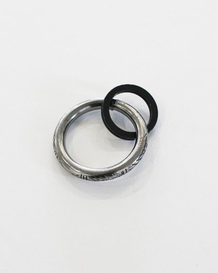 Fortune Goods Carved Montagnard Key Ring - Steel