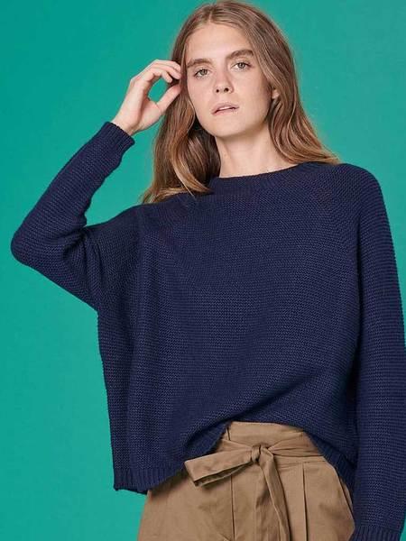 Sessun Caldeira Sweater - Navy