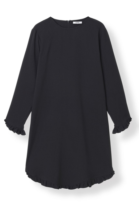 Ganni Clark Dress - Black